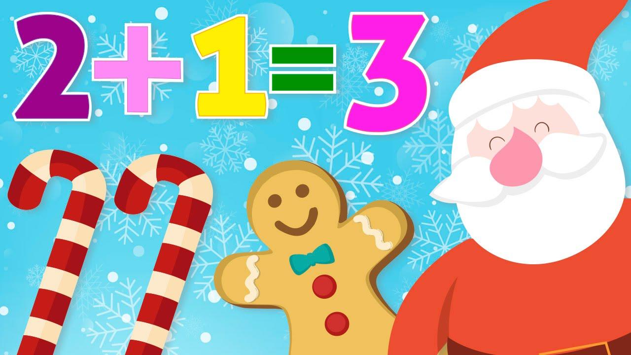 Aprende a sumar en Navidad – Matemáticas para niños – Sumas fáciles ...