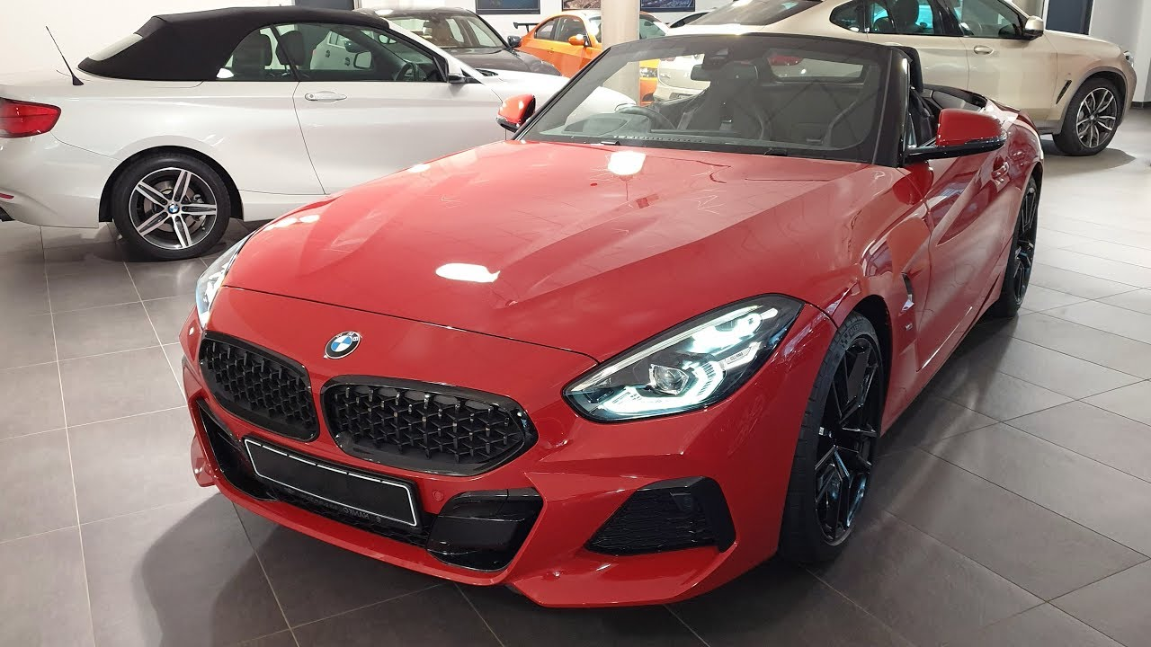 2019 Bmw Z4 Sdrive20i Modell M Sport Bmw View Youtube