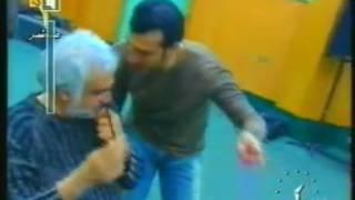 ايهاب توفيق  ونانسي عجرم  ...  كواليس بروفات  حفل شم النسيم 2004