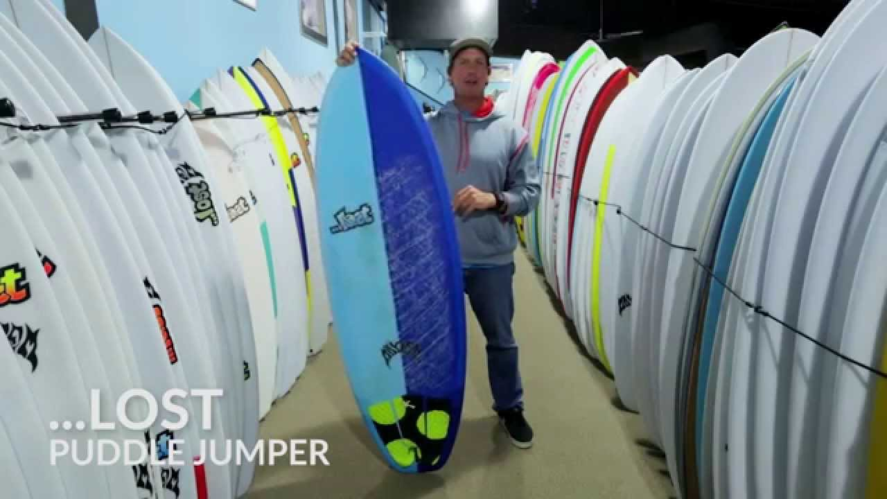 Lost Puddle Jumper Surfboard — REAL Watersports 41cae5096