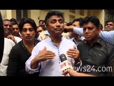 Dhaka North mayor contender Annisul Huq campaigns