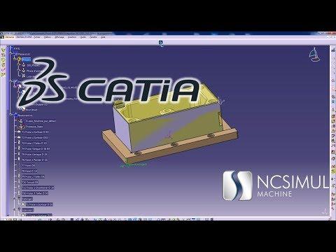 CAD/CAM interface | Catia | NCSIMUL Machine