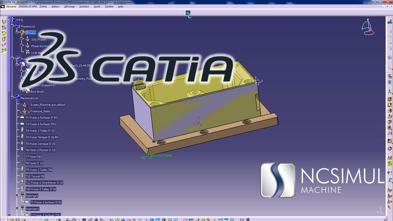 NCSIMUL   CAD/CAM interfaces   Stop wasting your time re-entering data