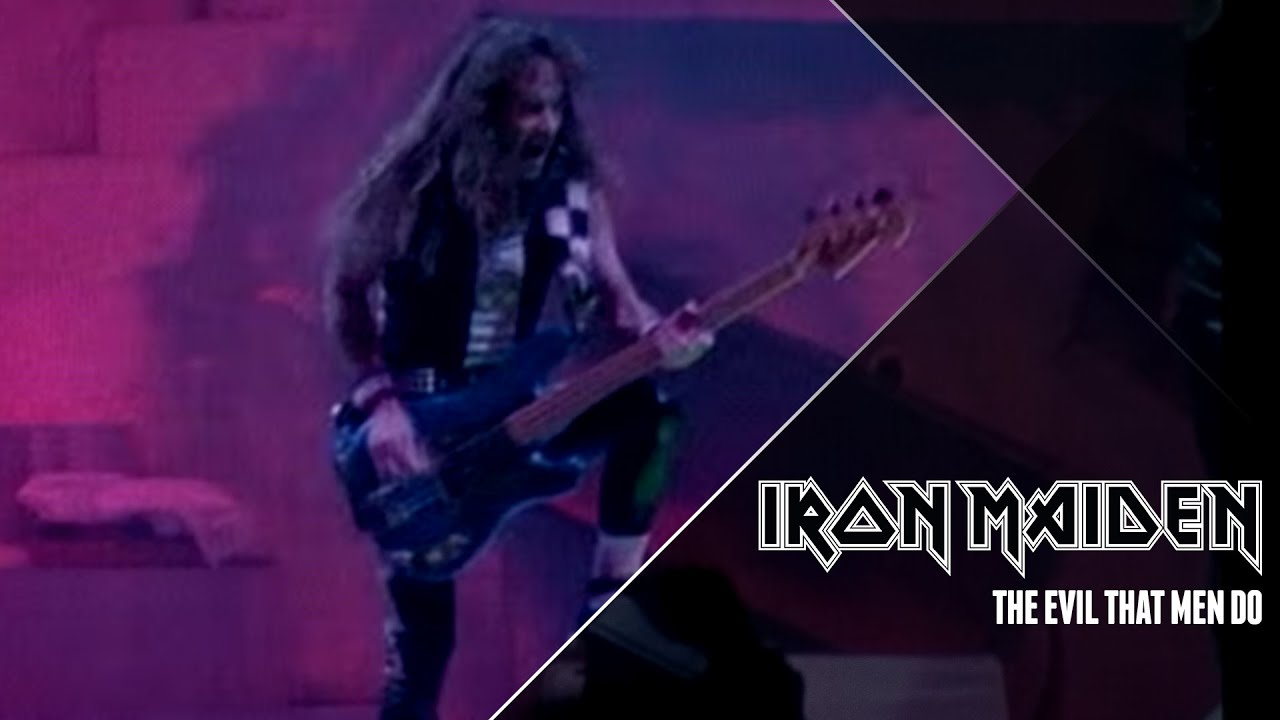 Iron Maiden - The Evil That Men Do (Official Video) - YouTube