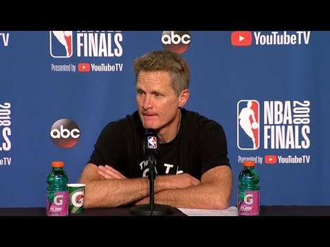 Steve Kerr Postgame Interview - Game 3   Warriors vs Cavaliers   June 6, 2018   2018 NBA Finals