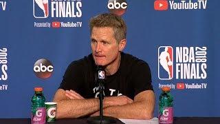 Steve Kerr Postgame Interview - Game 3 | Warriors vs Cavaliers | June 6, 2018 | 2018 NBA Finals