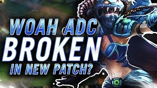 Gosu - WOAH ADC BROKEN IN NEW PATCH?