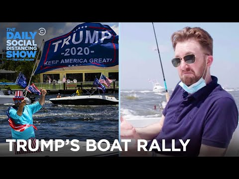 Trump's Boat Rally - Jordan Klepper Fingers the Pulse | The Daily Social Distancing Show