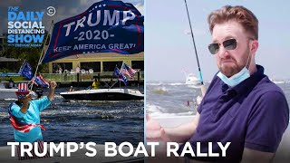 Download lagu Trump's Boat Rally - Jordan Klepper Fingers the Pulse | The Daily Social Distancing Show