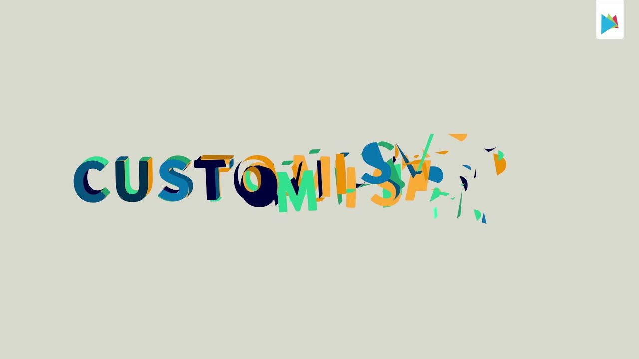 Fiesta Animated Font - After Effects Template - YouTube