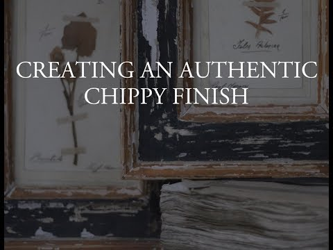 Amy Howard at Home: How to Create a Chippy Finish