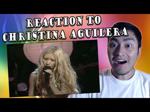 Christina Aguilera Live at Otro Rollo - Pero Me Acuerdo De Ti (REACTION)