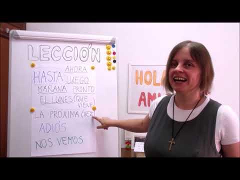 Hola amigos - 8. lekce španělštiny s misionářkou