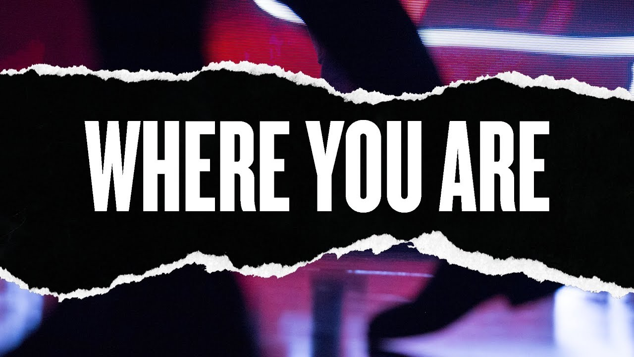 Where You Are (Live) - Hillsong Young & Free