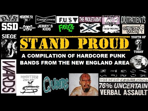 Stand Proud: The Best Of Boston & New England Area Hardcore