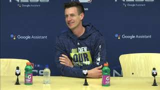 Brewers manager Craig Counsell's Game 6 pregame press conference