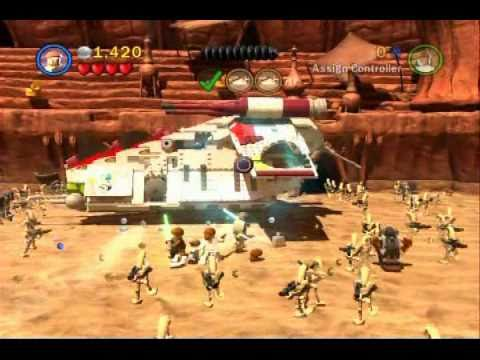 Lego Star Wars 3 Walkthrough Part 01 Geonosian Arena Story Mode