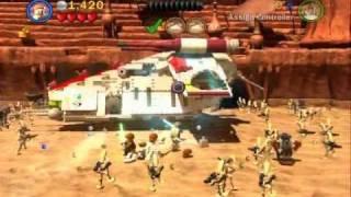 Lego Star Wars 3 Walkthrough - Part 01 - Geonosian Arena (Story Mode)