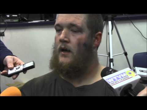 Reese Dismukes discusses his game-sealing snap, fumble against Texas A&M