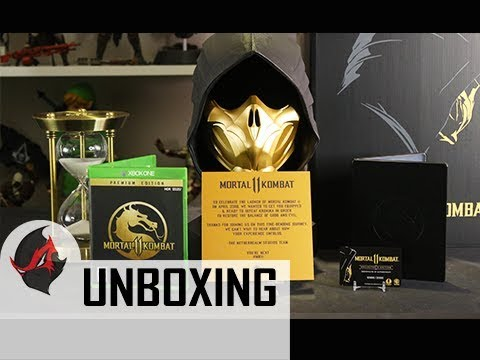Mortal Kombat 11 Kollector S Edition Unboxing Review