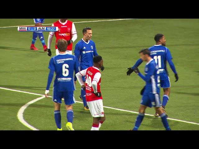 Samenvatting: MVV - Almere City FC (3-0)