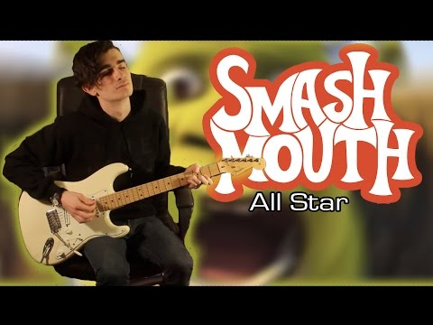 Smash Mouth - All Star (Guitar & Bass Cover w/ Tabs)