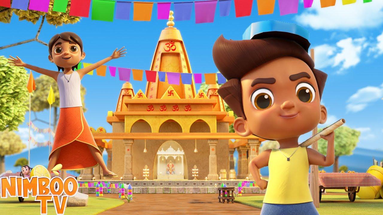 Akad Bakad Bambebo | अकड़ बक्कड़ बंबे बो | Nimboo Kids Hindi Rhymes | Hindi Balgeet | Laal Tamatar