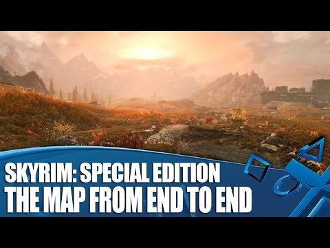 Skyrim: Special Edition - The Map From End To End