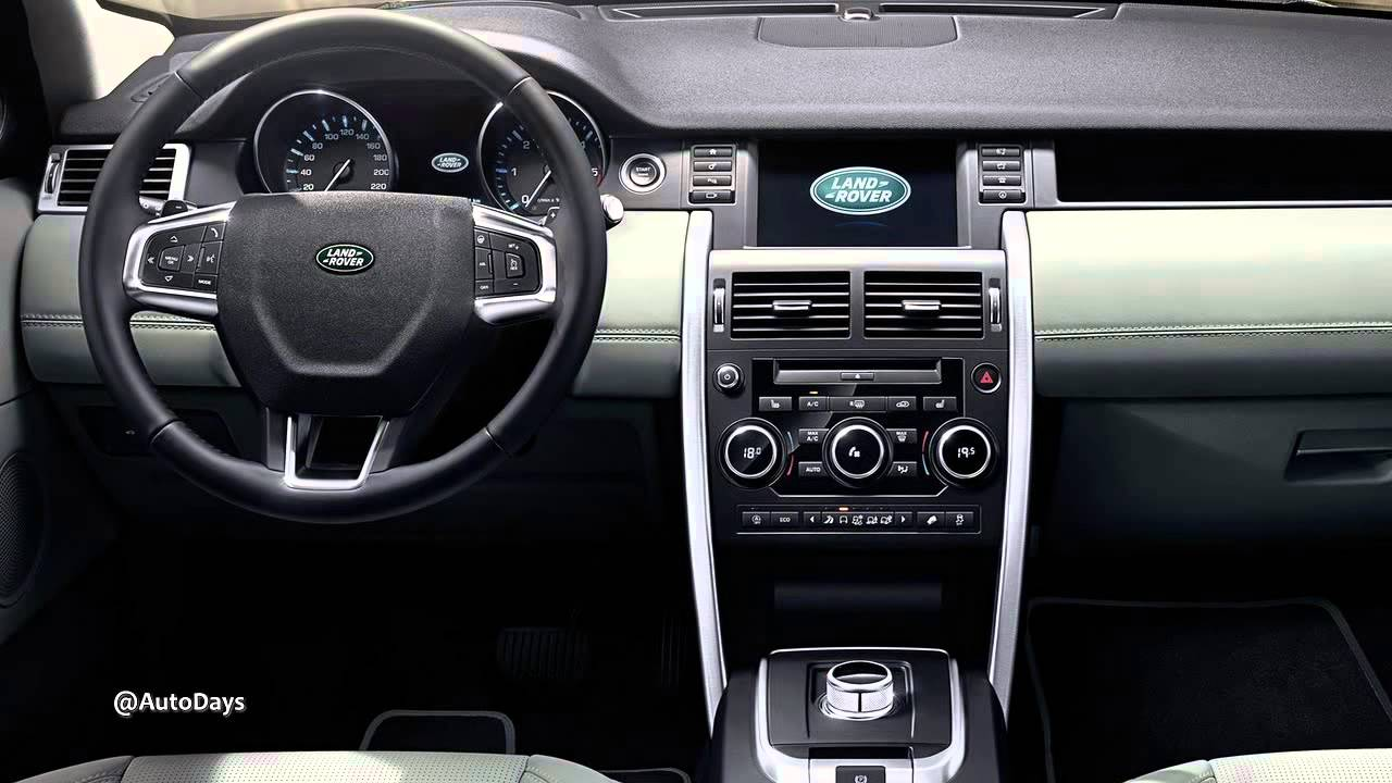2015 Land Rover Discovery Sport Interiors and Exteriors ...