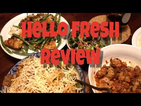 Hello Fresh Food Delivery Review For Body Building | Full Day of Eating 1500 Cal
