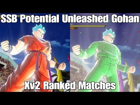 Super Saiyan Blue Potential Unleashed Gohan CaC Ranked Matches! He has ascended again!!