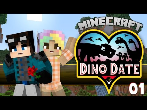 Minecraft Dinosaurs | Dino Date #1 | The Day Of The Date