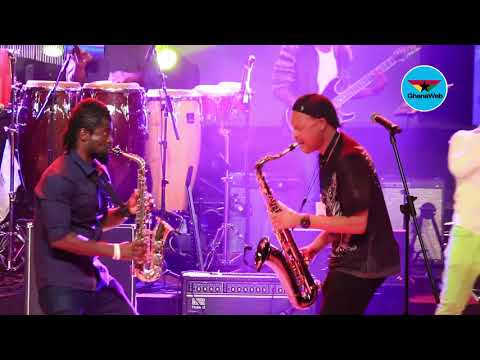Tom Braxton and Steve Bedi perform together at Stanbic Jazz Festival