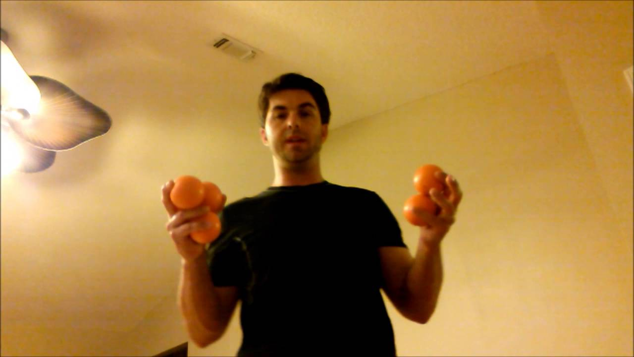 Library of juggling five ball multiplex columns.