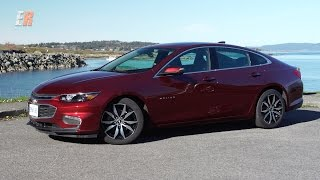 2016 Chevrolet Malibu Test Drive -  The Most Connected Car