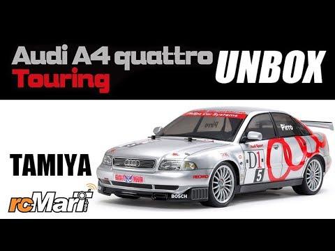 Tamiya Audi A4 Quattro Touring TT-01E 4WD 1//10 2,4GHz Komplettset #300047414SET