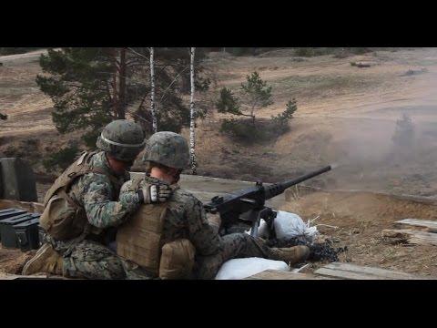 Camp Adazi in Latvia Welcomes the U.S. Marine Corps