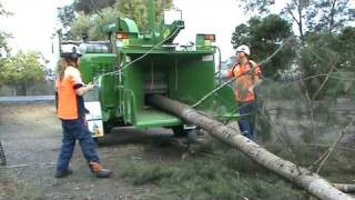 "Bandit  Model 19XP, 1890XP Wood Chipper with winch - 16"" diameter Australian tree."