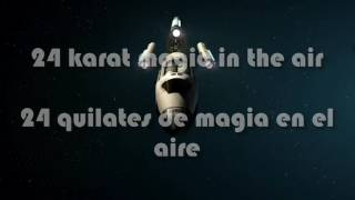bruno mars 24k magic lyrics letra subtitulada espaol
