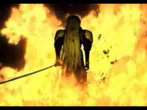 Final Fantasy Vii Nibelheim Fire