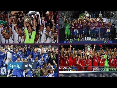 الفرق الفائزة بدوري أبطال أوروبا من سنة 2000 حتى 2016