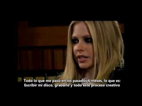 Avril Lavigne - The Making of THE BEST DAMN THING (Pt1) [SUB ESPAÑOL]