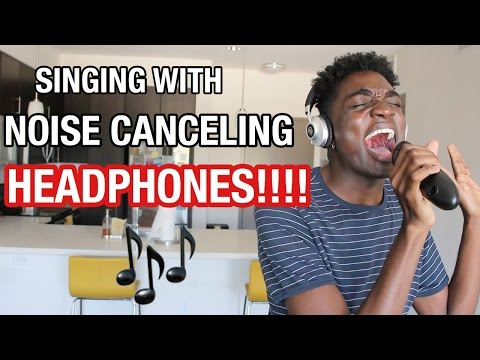 Thumbnail: SINGING WITH NOISE CANCELING HEADPHONES!!!