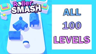 Roller Smash Game Level 1-100 Walkthrough