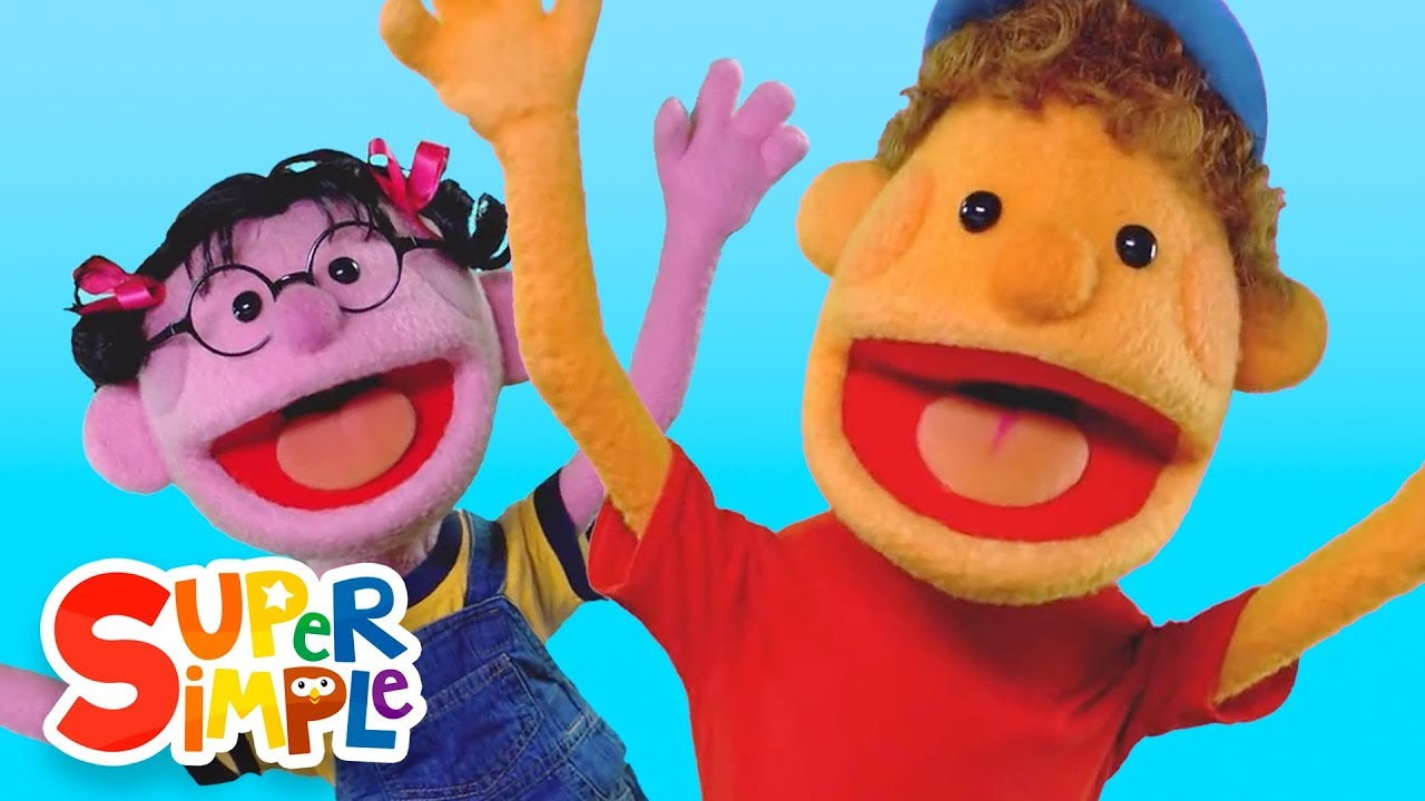 If You Re Happy And You Know It Kids Songs Super Simple Songs Youtube