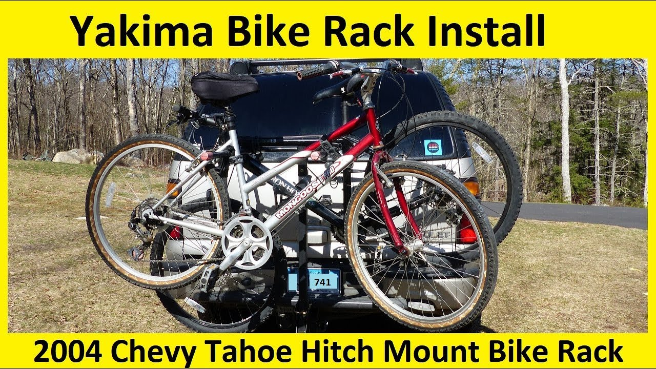 Yakima Bike Rack Bicycle Carrier Installation And Overview Youtube