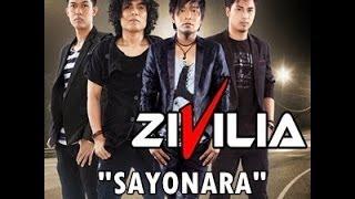 Video [KARAOKE VERSION] Zivilia-Sayonara + LIRIK HD download MP3, 3GP, MP4, WEBM, AVI, FLV Desember 2017