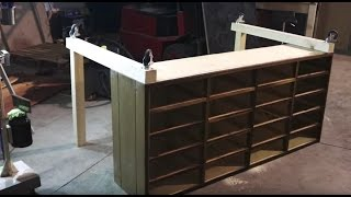⇒ From Bookshelf to Workbench Movie Set - DIY Recycling