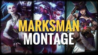 Marksman Montage - Piglet, Doublelift, Wildturtle & more