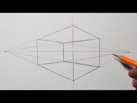 How to Draw 2 Point Perspective for Beginners